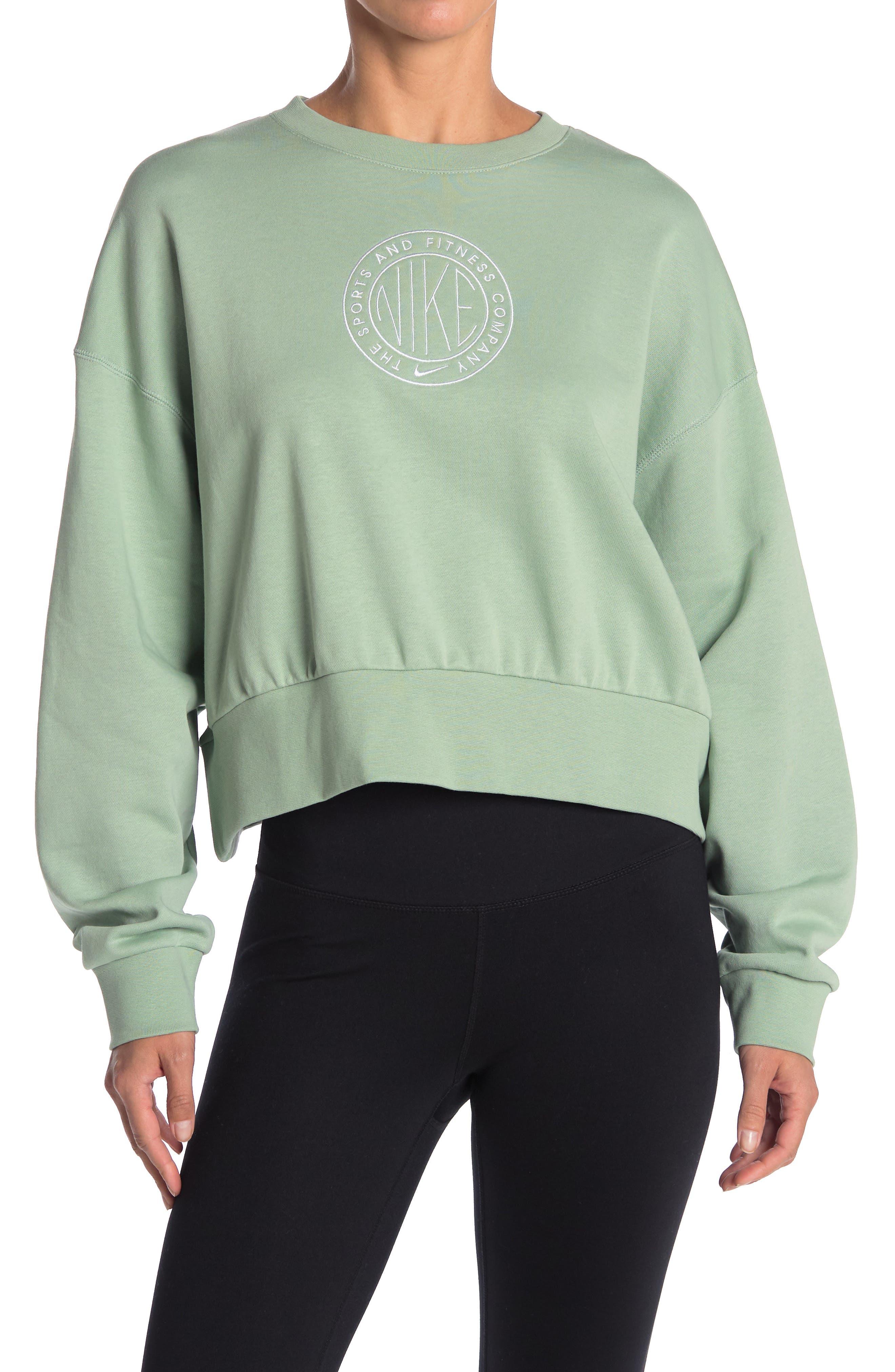 Image of Nike Femme Drop Shoulder Logo Sweater
