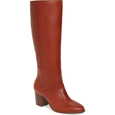 Madewell The Kiki Knee High Boot, Red
