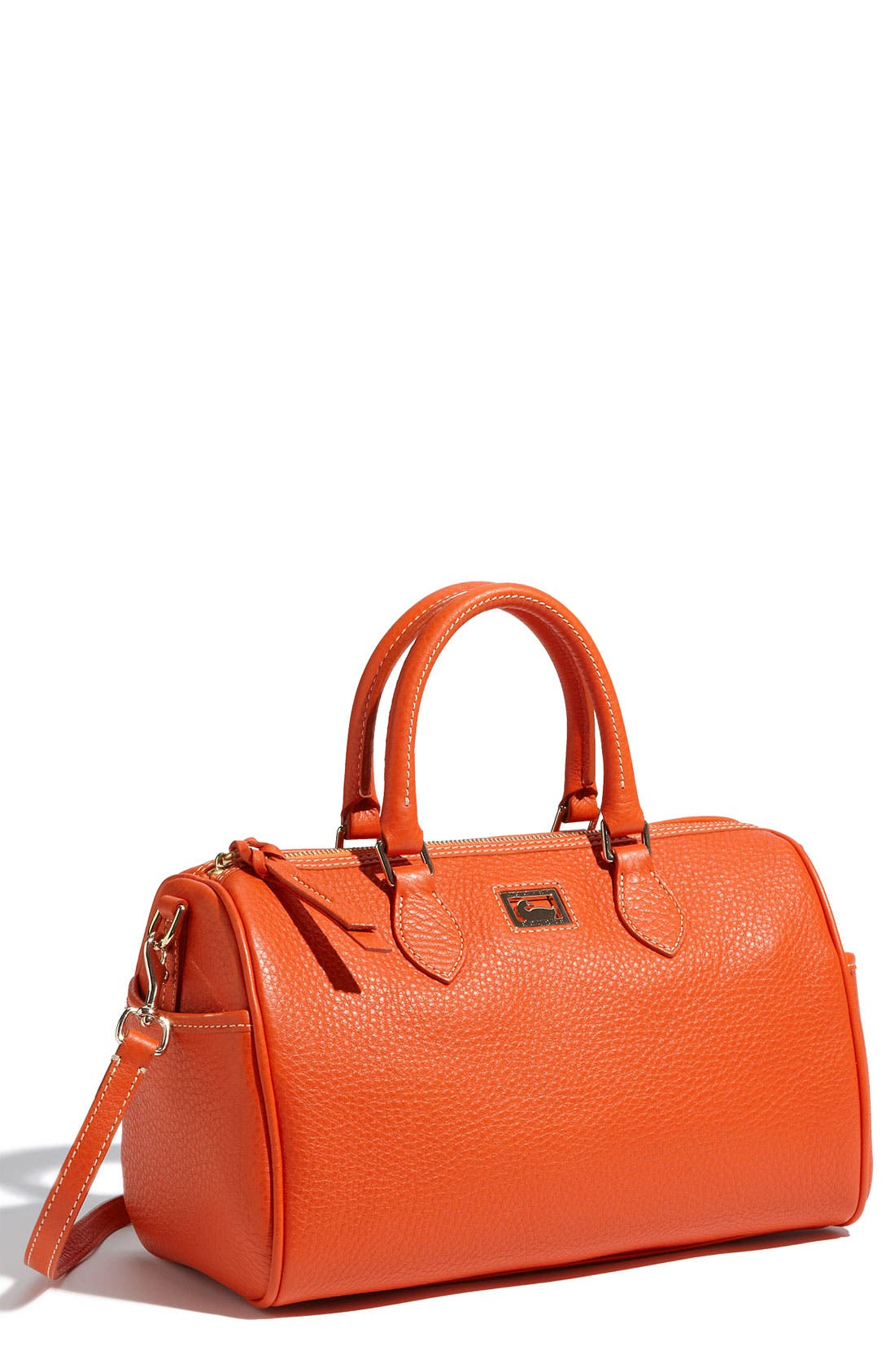,                             Leather Satchel,                             Main thumbnail 4, color,                             810