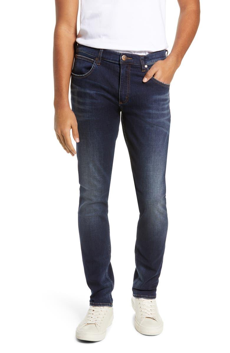 WRANGLER Larston Tapered Slim Fit Jeans, Main, color, 472