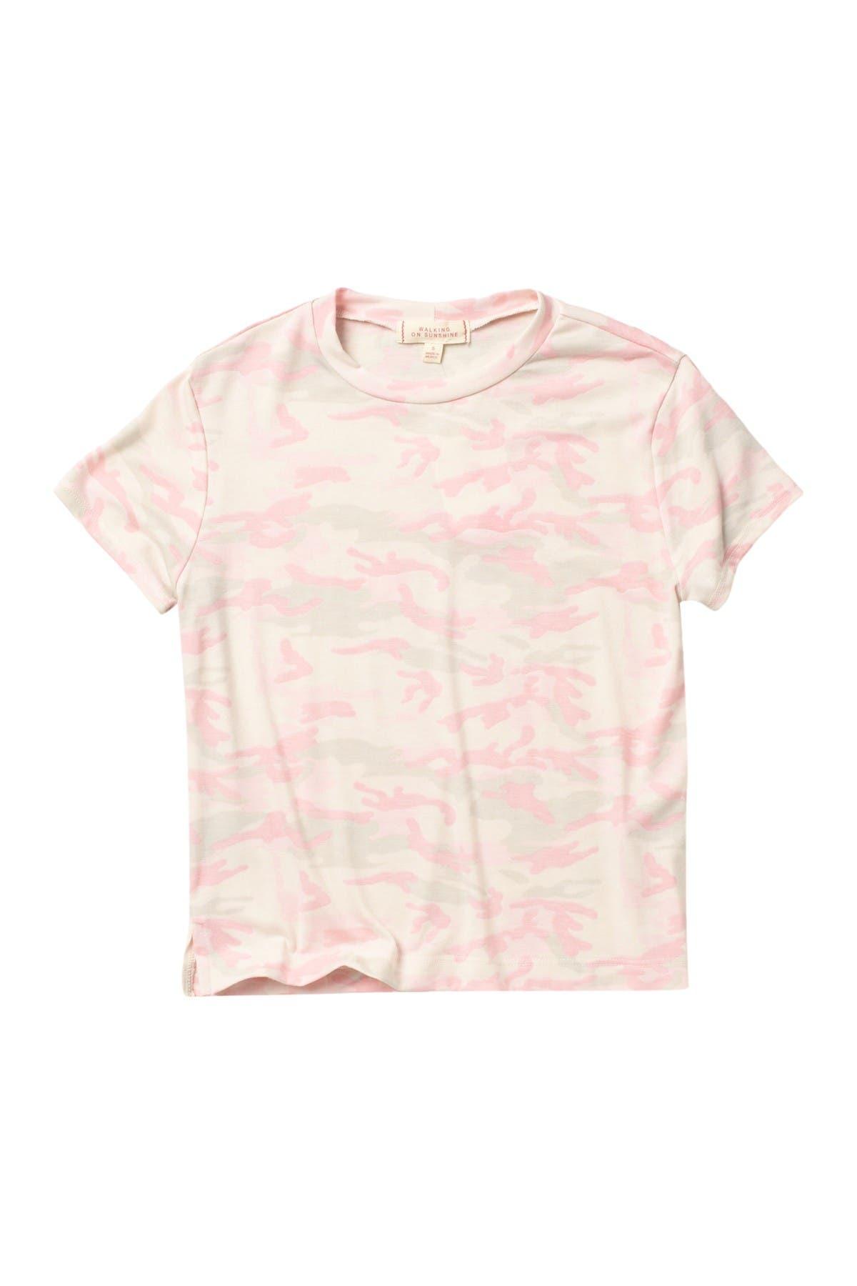 Image of WALKING ON SUNSHINE Printed T-Shirt