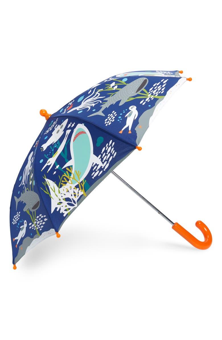 FLOSS & ROCK Deep Sea Color Changing Umbrella, Main, color, 401