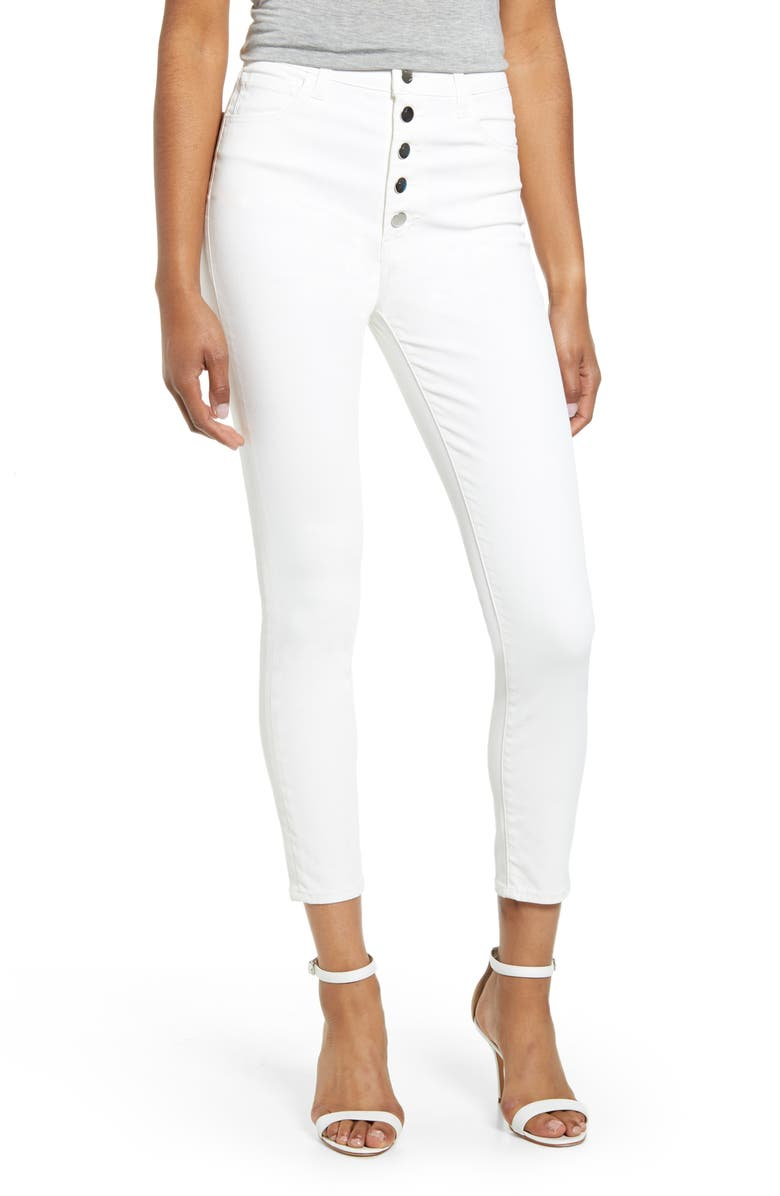 J BRAND Lillie High Waist Crop Skinny Jeans, Main, color, 105