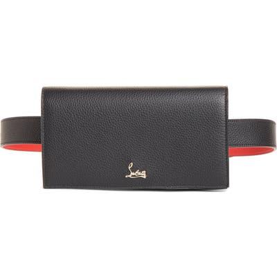 Christian Louboutin Boudoir Leather Belt Bag - Black