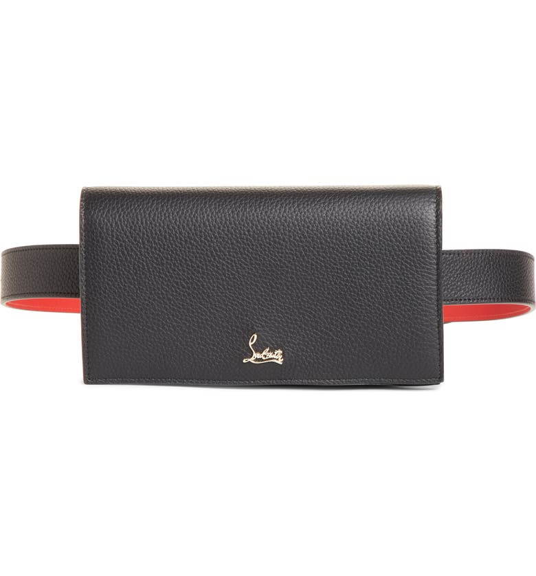 low priced 48a08 88e19 Christian Louboutin Boudoir Leather Belt Bag | Nordstrom