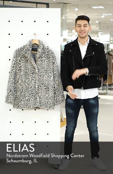 Faux Fur Midi Coat, sales video thumbnail