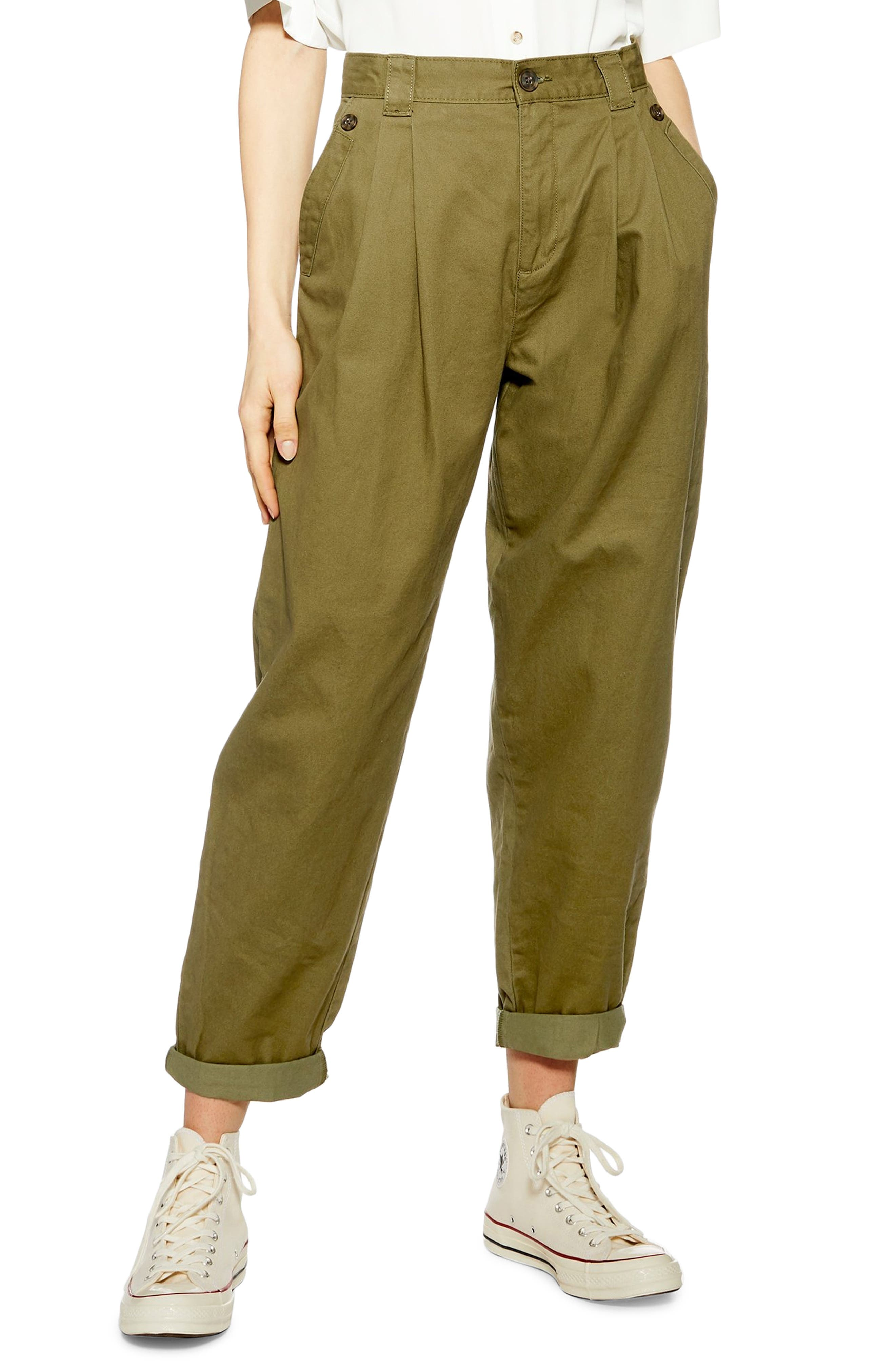 ,                             Caitlin Trousers,                             Main thumbnail 1, color,                             OLIVE