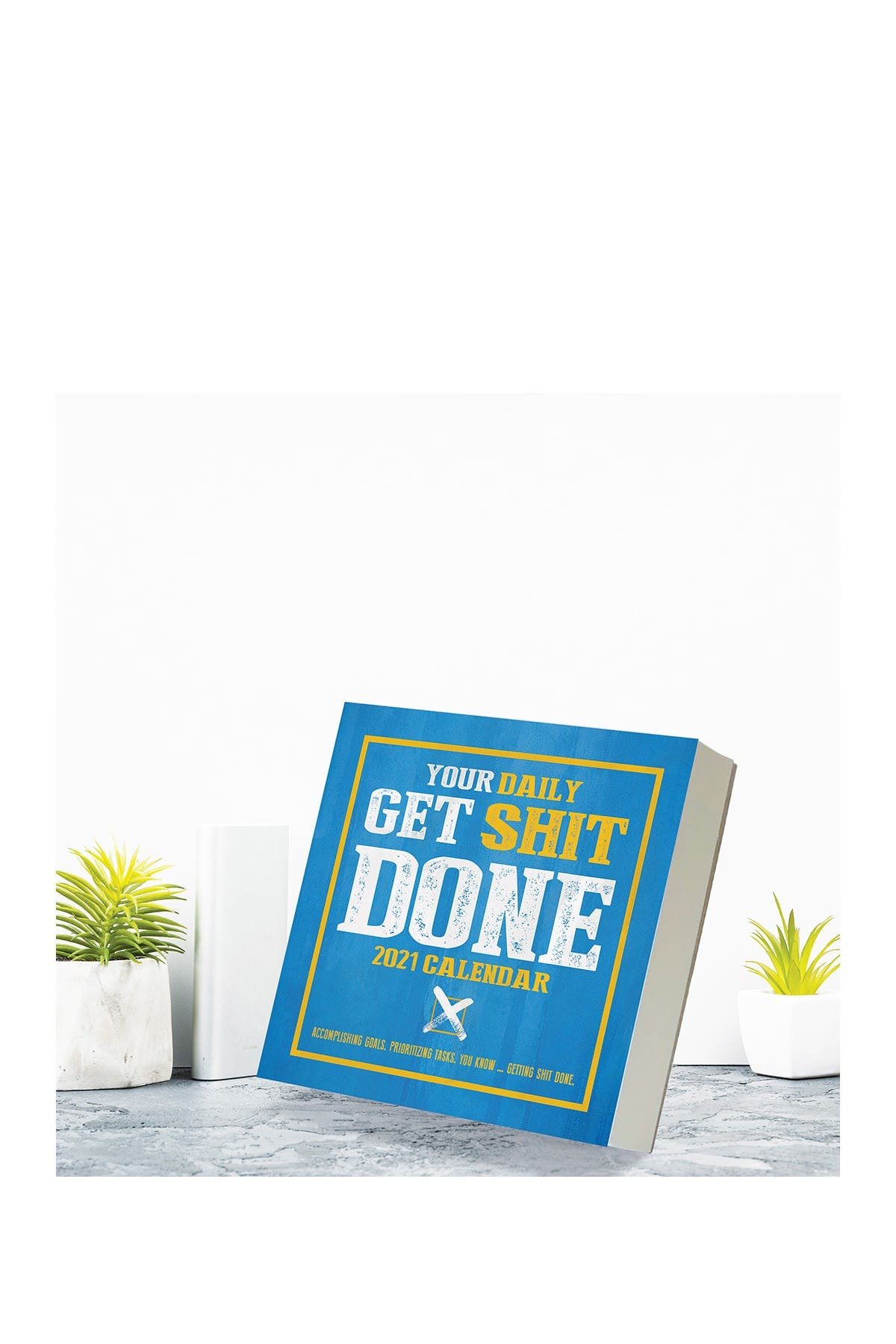 Image of TF Publishing 2021 Get Sh*t Done Daily Desktop Calendar