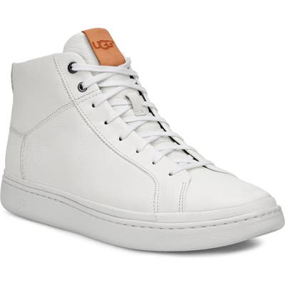 Ugg Cali High Top Sneaker, White