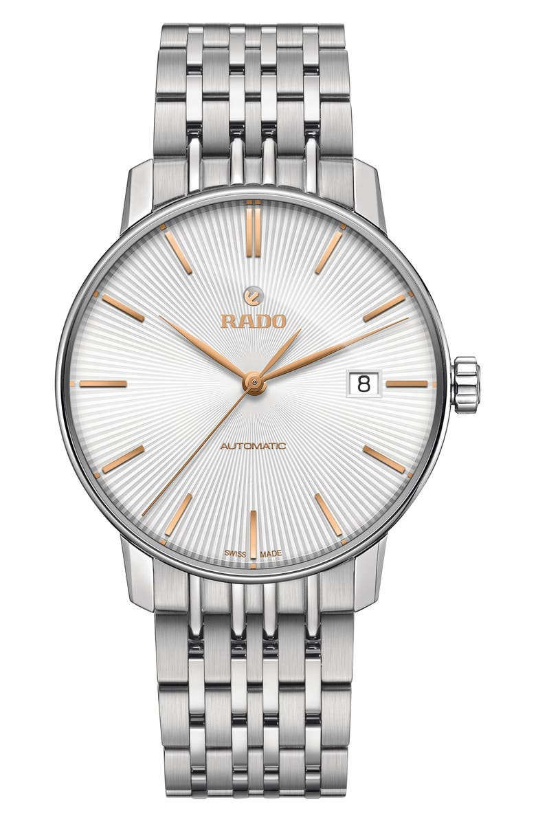 RADO Coupole Classic Automatic Bracelet Watch, 37.7mm, Main, color, 040