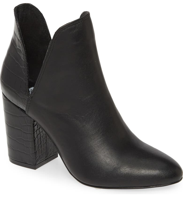 STEVE MADDEN Rookie Bootie, Main, color, BLACK MULTI