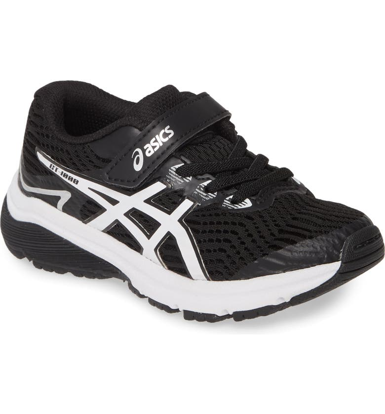 ASICS<SUP>®</SUP> GT-1000 8 PS Running Shoe, Main, color, BLACK/ WHITE