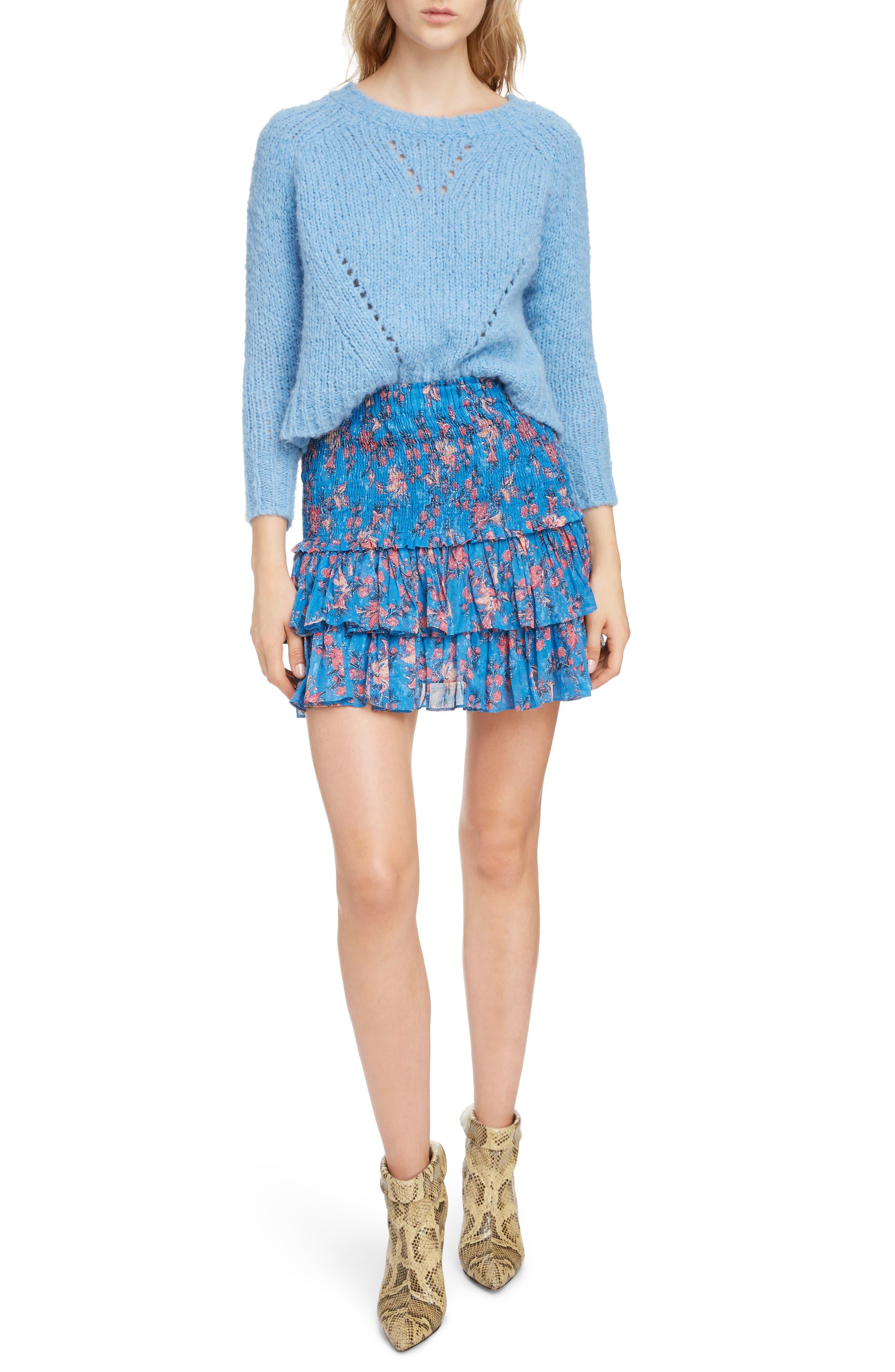 ,                             Shields Sweater,                             Alternate thumbnail 6, color,                             LIGHT BLUE