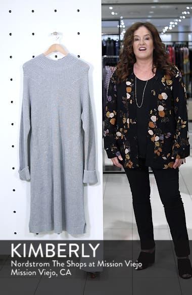 Ribbed Sweater Dress, sales video thumbnail