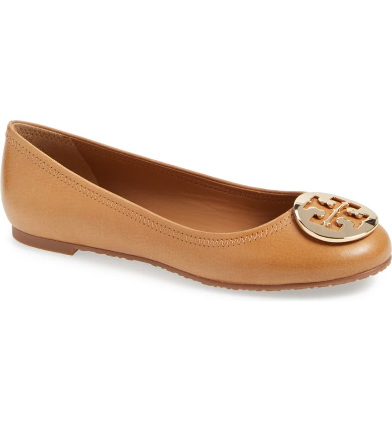 TORY BURCH Reva Ballerina Flat, Main, color, 253