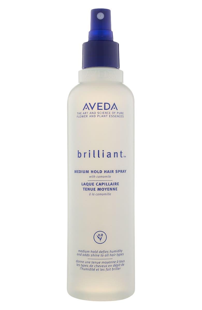 AVEDA brilliant<sup>™</sup> Medium Hold Hair Spray, Main, color, 000