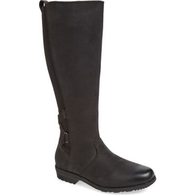 Teva Ellery Waterproof Boot, Black