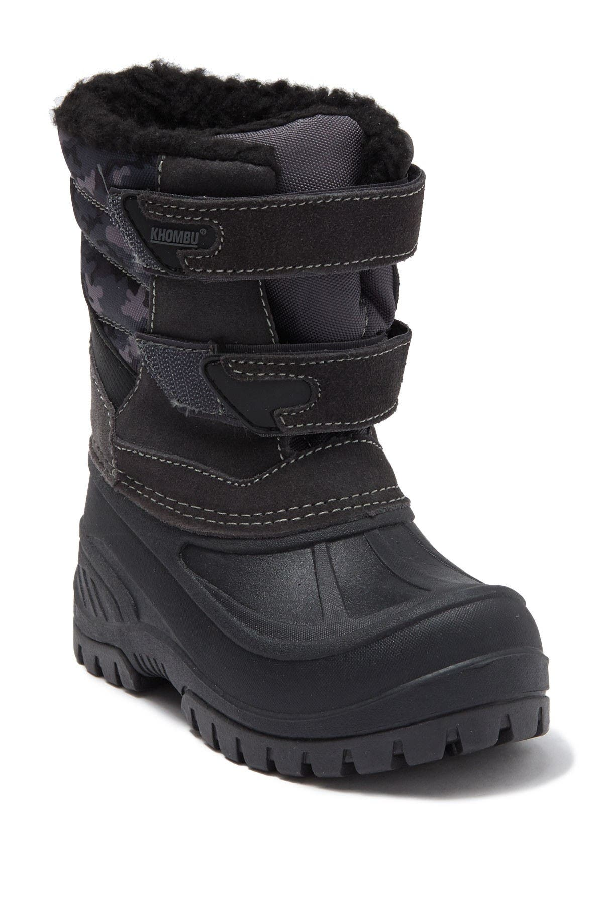 Image of Khombu Snowbank Faux Fur Lined Boot