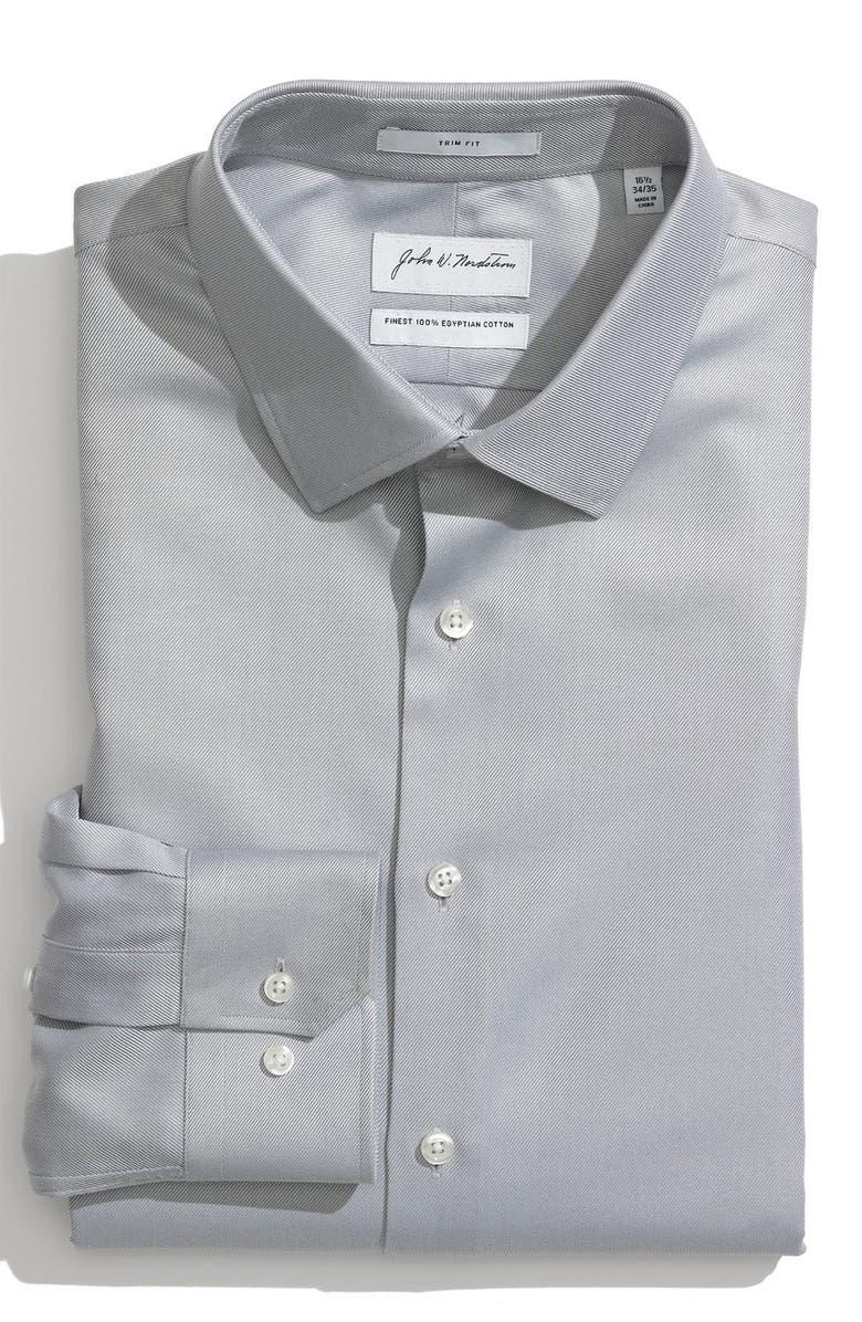 JOHN W. NORDSTROM<SUP>®</SUP> Trim Fit Dress Shirt, Main, color, 020