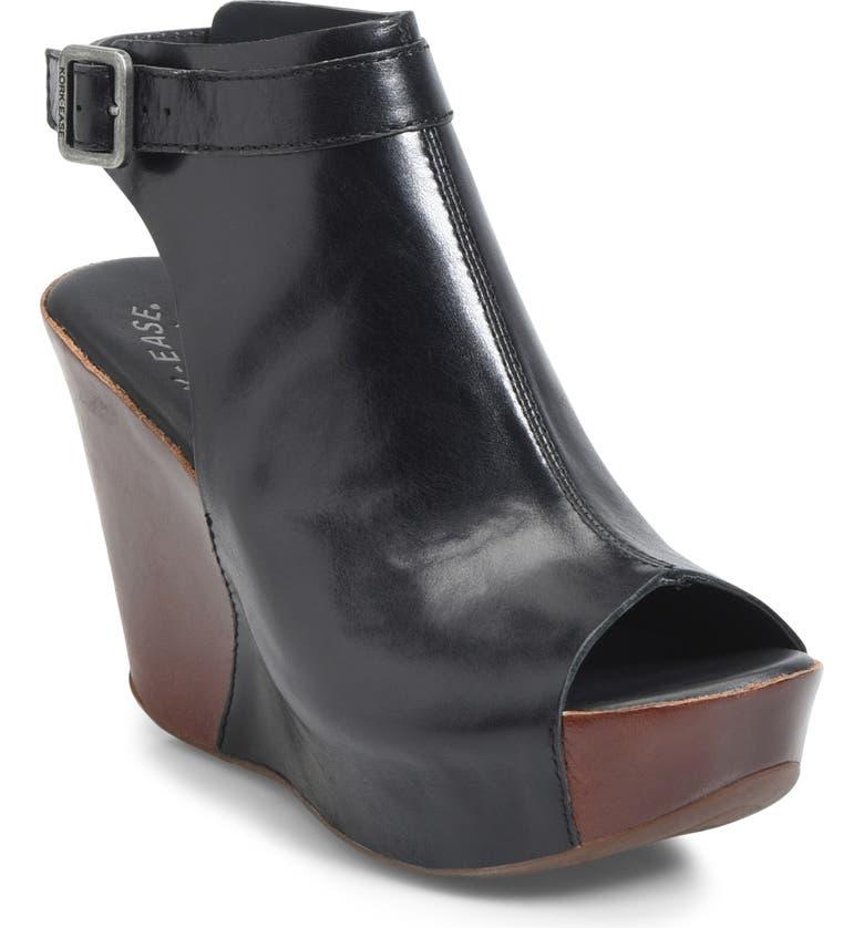 KORK-EASE<SUP>®</SUP> 'Berit' Wedge Sandal, Main, color, 005