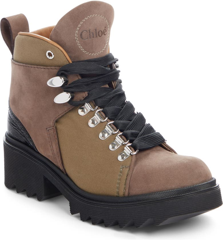 CHLOÉ Bella Hiking Boot, Main, color, 301