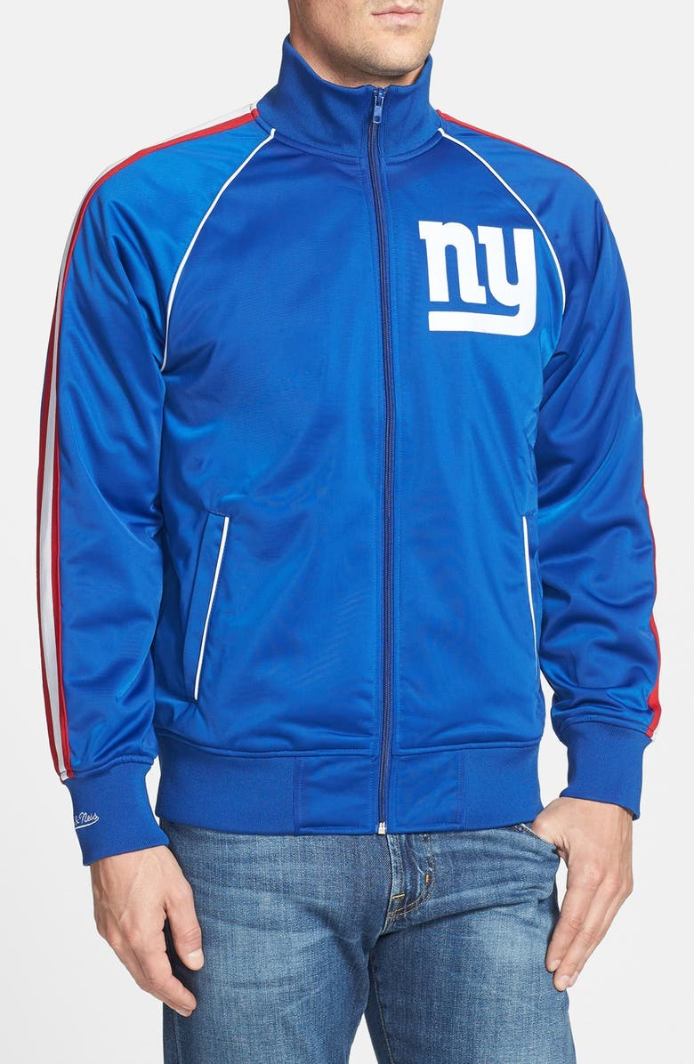 sports shoes f63d9 4e2b8 Mitchell & Ness 'Snap Pass - New York Giants' Track Jacket ...