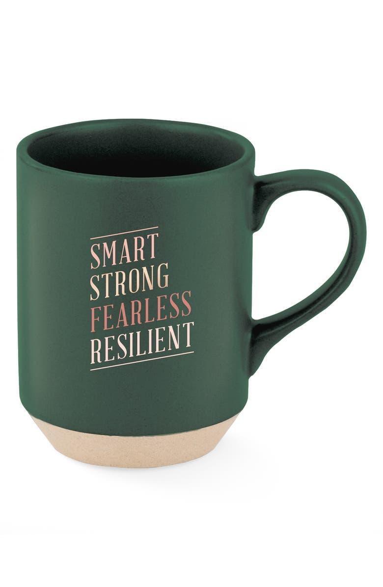FRINGE STUDIO Smart Strong Mug, Main, color, SMART STRONG