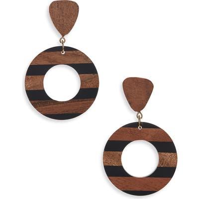 Bp. Wood Statement Earrings
