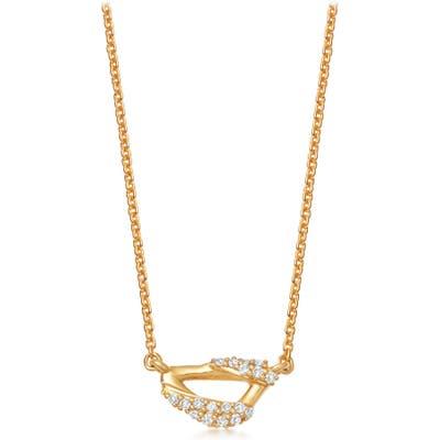 Astley Clarke Mini Vela Pendant Necklace