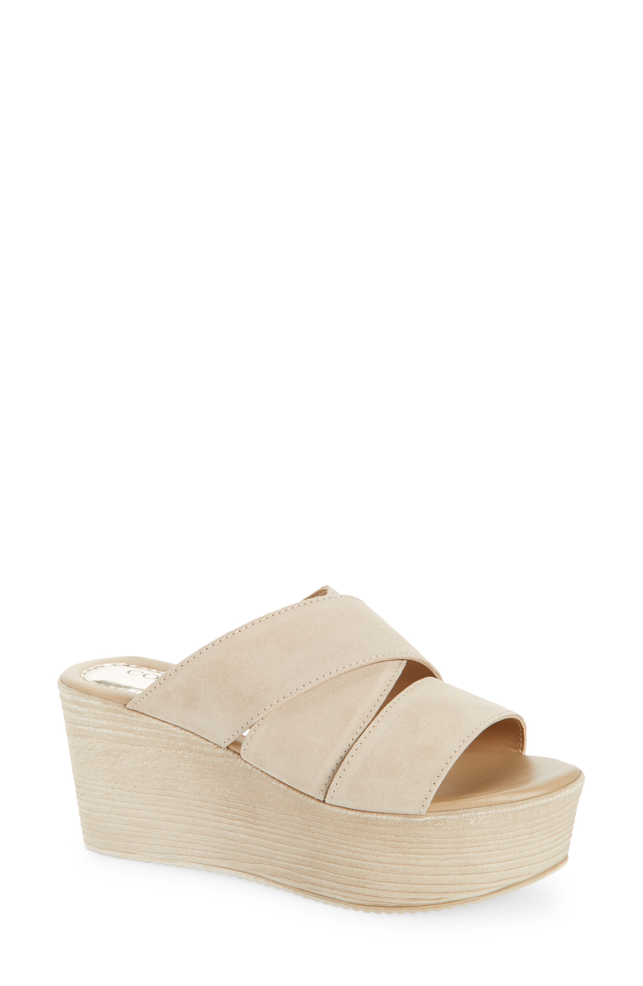 Bennie Platform Wedge Sandal