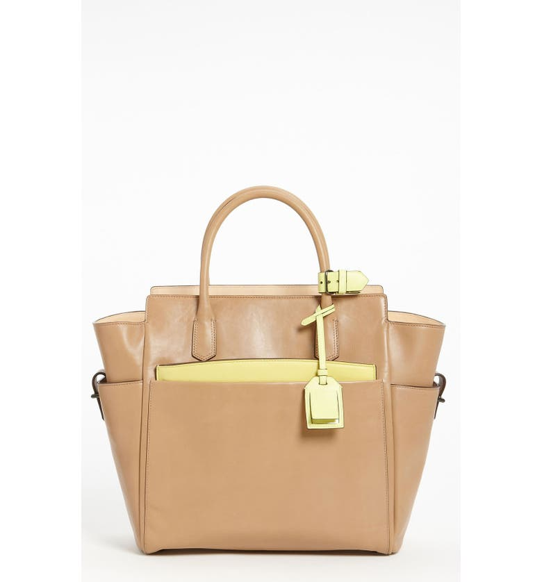 REED KRAKOFF 'Atlantique' Leather Tote, Main, color, 250