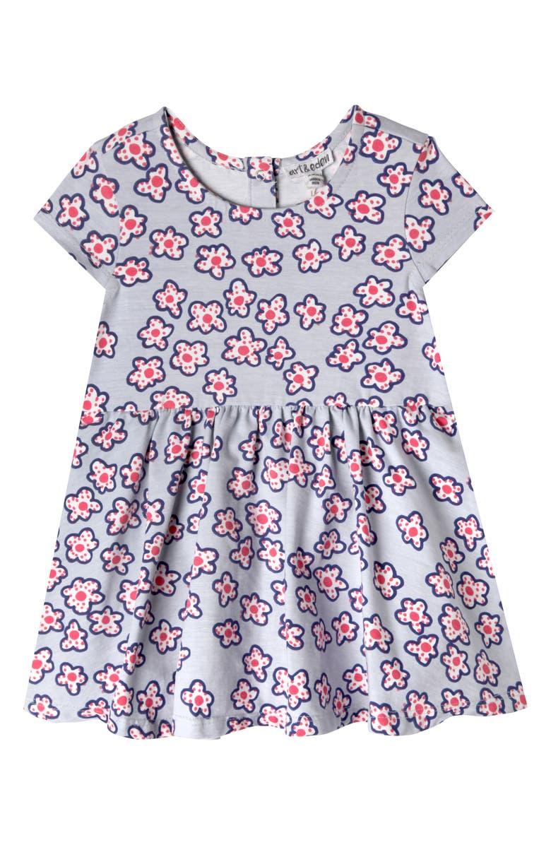 ART & EDEN Grace Dress, Main, color, DOTTED FLORAL