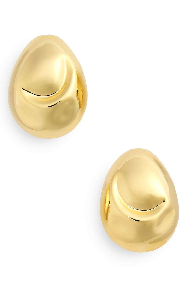 MONICA SORDO Cubagua Earrings, Main, color, GOLD