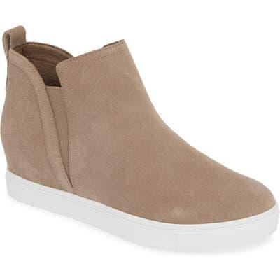 Blondo Georgette Waterproof Hidden Wedge Sneaker, Grey