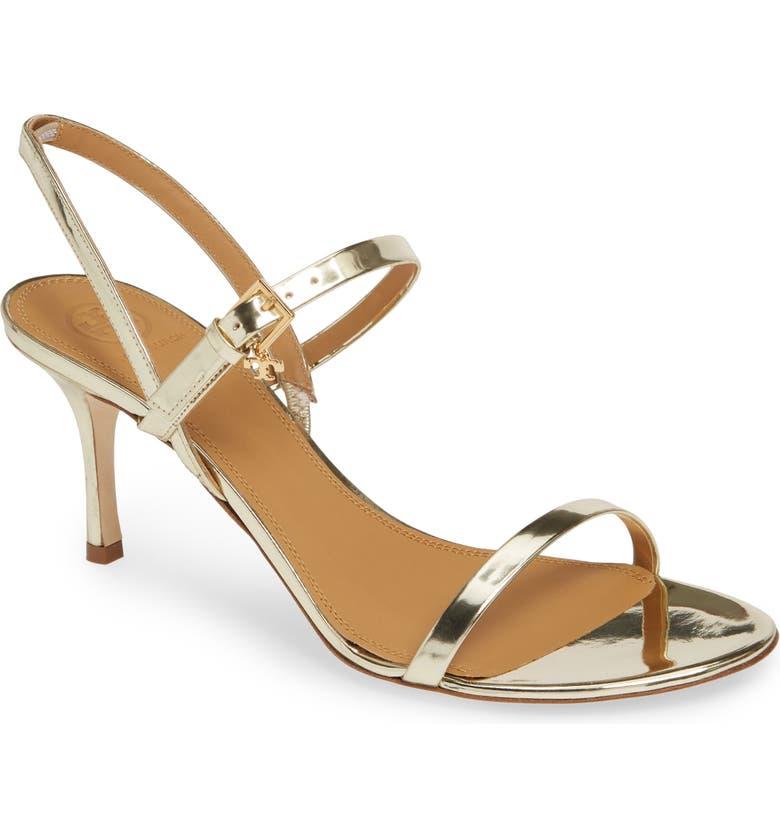 TORY BURCH Penelope Slingback Sandal, Main, color, SPARK GOLD