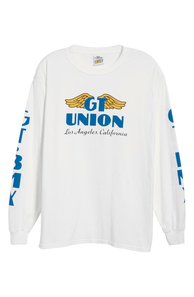 OUR LEGENDS Wings Long Sleeve T-Shirt, Main, color, WHITE