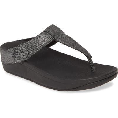Fitflop Mina Flip Flop, Black