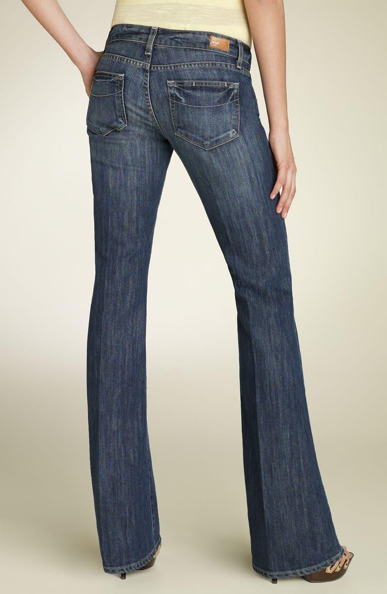 PAIGE Denim 'Laurel Canyon' Low Rise Stretch Jeans, Main, color, 405