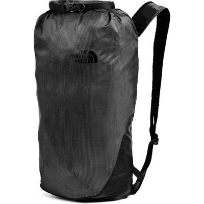 The North Face Flyweight Rolltop Backpack - Grey