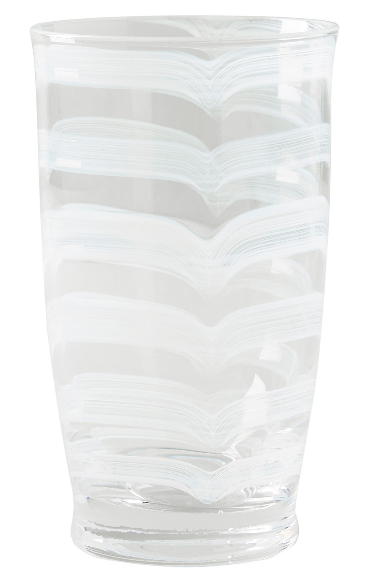 ,                             Lottie Set of 4 Highball Glasses,                             Alternate thumbnail 4, color,                             WHITE