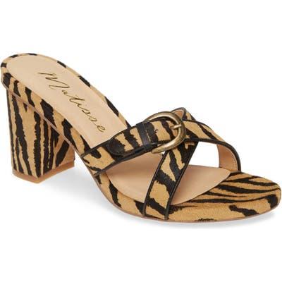 Matisse So Long Slide Sandal, Brown