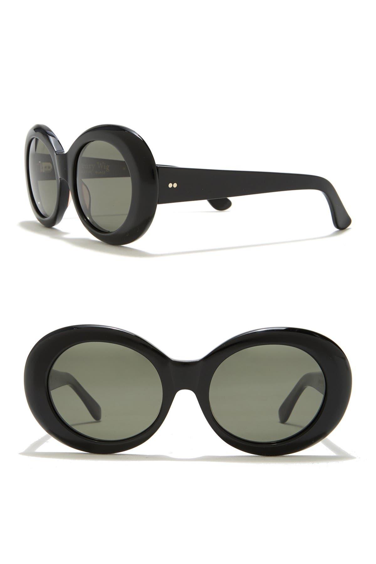 Image of RAEN Figurative 51mm Oval Sunglasses