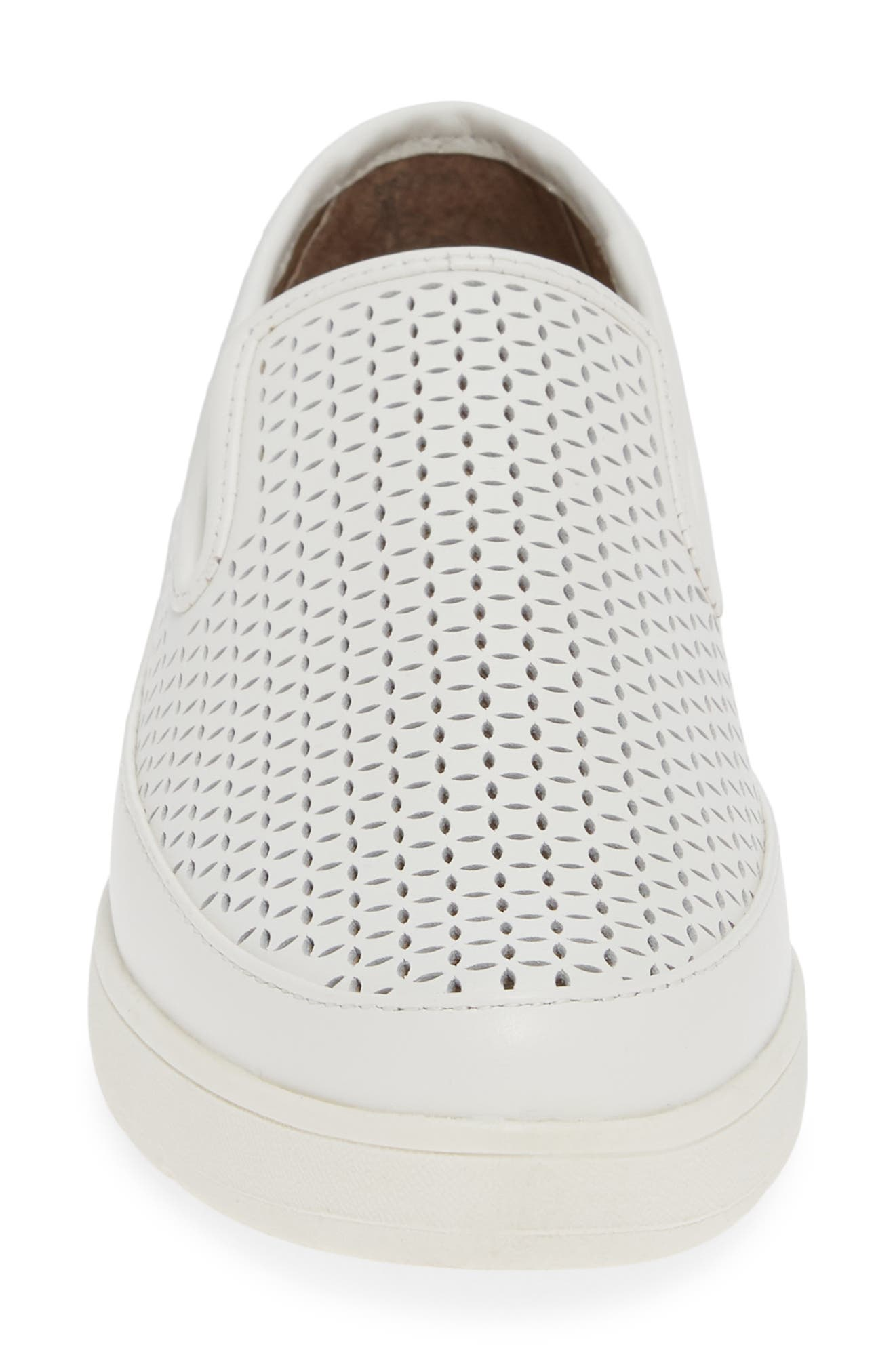 ,                             Maddox Perforated Slip-On Sneaker,                             Alternate thumbnail 4, color,                             100