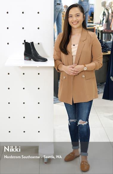 Blake Crystal Heel Chelsea Boot, sales video thumbnail