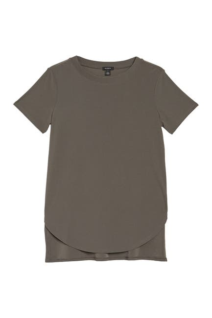 Image of Halogen Short Sleeve Tunic T-Shirt