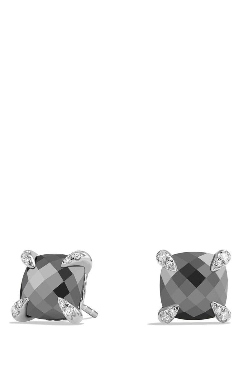 DAVID YURMAN Châtelaine Earrings with Semiprecious Stones and Diamonds, Main, color, 001