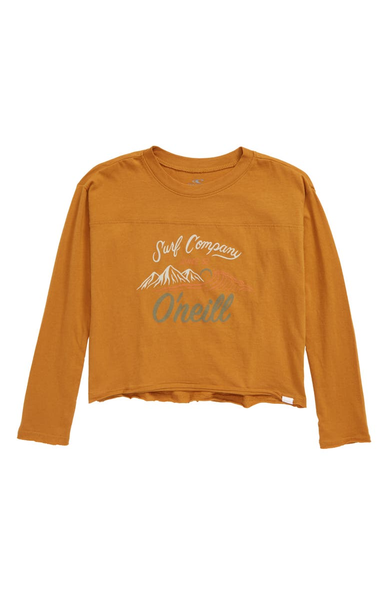 O'NEILL Lakeview Long Sleeve Tee, Main, color, AMBER
