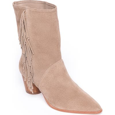 Bernardo Felix Fringe Boot, Brown