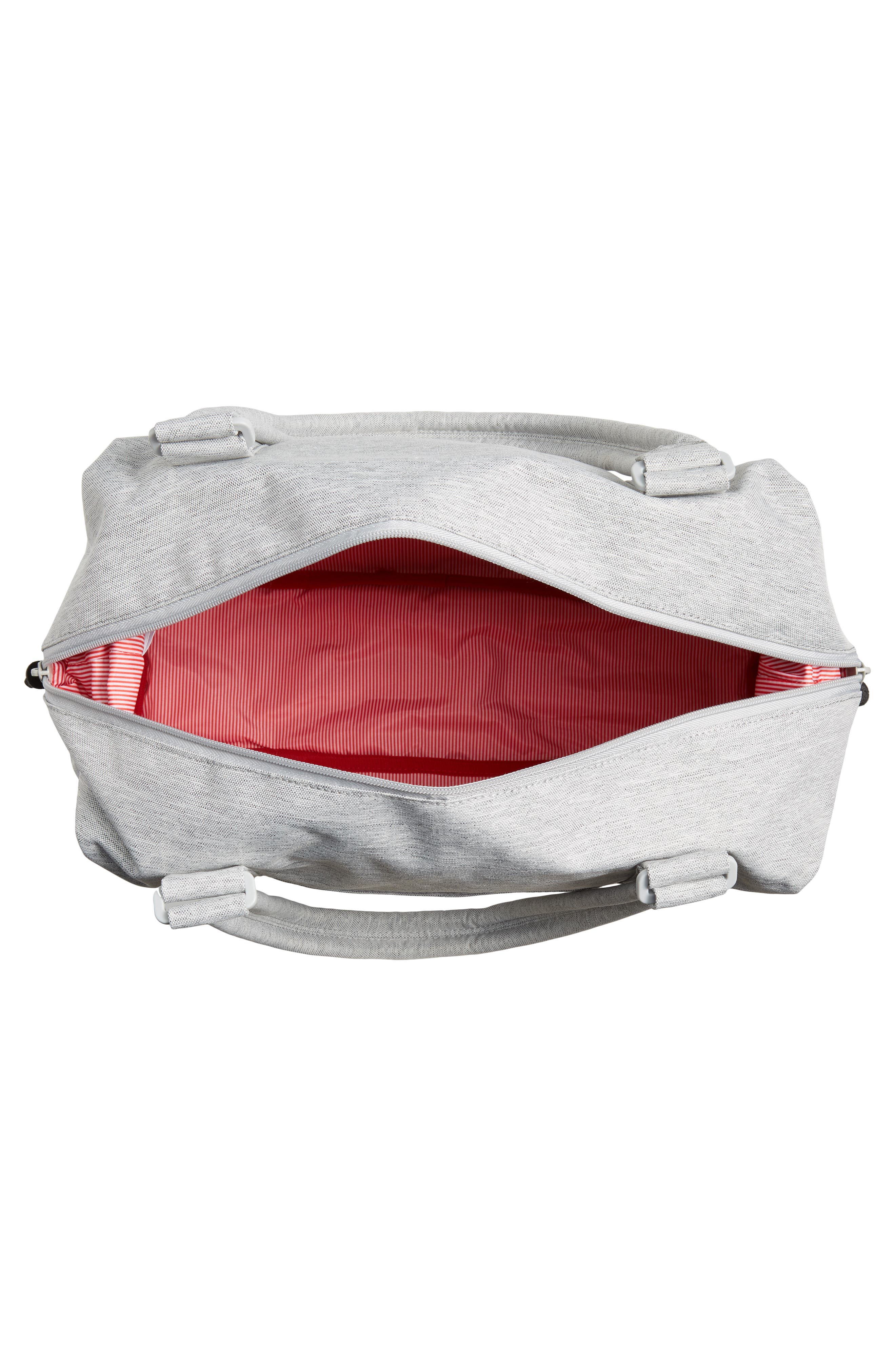,                             Strand Duffle Bag,                             Alternate thumbnail 5, color,                             LIGHT GREY CROSSHATCH