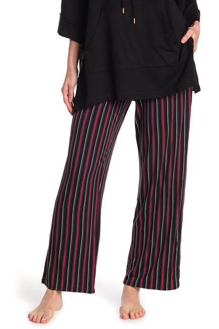 Image of Donna Karan Printed Jersey Pajama Pants